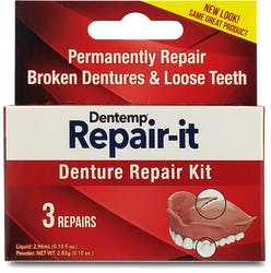 Dentemp Repair It Denture Repair Kit - 3 Repairs