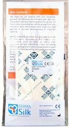 Derma Silk Washable Eczema Gloves Size M 1Pair
