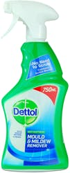 Dettol Anti-Bacterial Mould & Mildew Remover 750ml