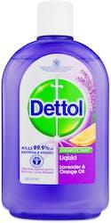 Dettol Disinfectant Liquid Lavender & Orange 500ml
