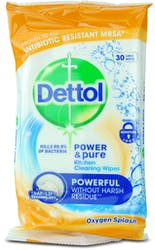 Dettol Kitchen Cleaning Wipes 30s