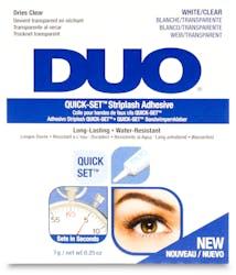 Duo Quick-Set Striplash Adhesive White/Clear 7g