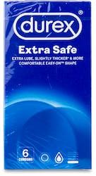 Durex Extra Safe Condoms 6s