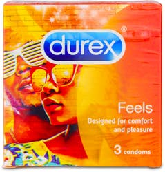 Durex Feels Condoms 3s