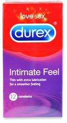 Durex Intimate Feel Thin Condoms 12s