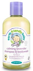 Earth Friendly Baby Organic Shampoo & Bodywash Lavender 250 ml
