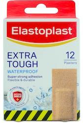Elastoplast Extra Tough Waterproof 12 Plasters