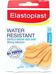 Elastoplast Water Resistant 20 Plasters