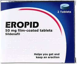 Eropid Sildenafil 50mg 2 Tablets