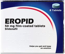 Eropid Sildenafil 50mg 8 Tablets