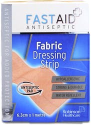 Fast Aid Waterproof Dressing Strip 6.3cm x 1m