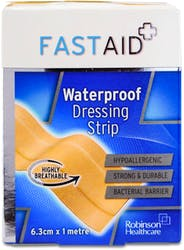 Fast Aid Waterproof Dressing Strip 6.3cm x 1m