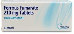 Ferrous Fumarate 210mg 84 Tablets