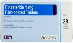 Finasteride Accord (PGD) 1mg 28 Tablets