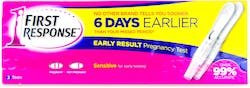 First Response Early Result Pregnancy 2 Tests