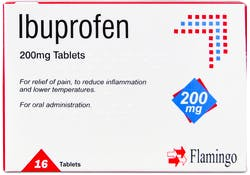 Flamingo Ibuprofen 200mg 16 Tablets
