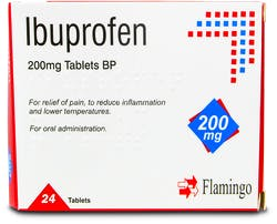 Flamingo Ibuprofen 200mg 24 Tablets