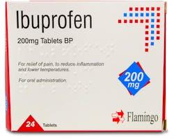 Flamingo Ibuprofen 200mg 24 Tablets