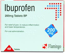 Flamingo Ibuprofen 200mg 48 Tablets