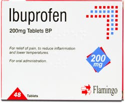 Flamingo Ibuprofen 200mg 48 Tablets
