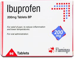 Flamingo Ibuprofen 200mg 96 Tablets