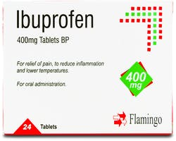 Flamingo Ibuprofen 400mg 24 Tablets