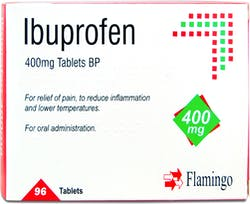 Flamingo Ibuprofen 400mg 96 Tablets