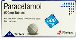 Flamingo Paracetamol 500mg 16 Tablets