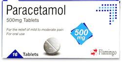 Flamingo Paracetamol 500mg 16 Tablets