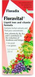 Floradix Floravital Herbal Liquid Iron & Vitamin 250ml