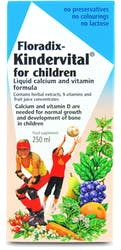 Floradix Kindervital for Children Liquid Calcium and Vitamin Formula 250ml