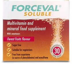 Forceval Soluble Tablets 30