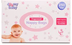 Fragranced Nappy Bags Pack Of 250