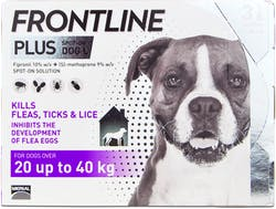 Frontline Plus Spot-on Dog Large 3 Pipettes