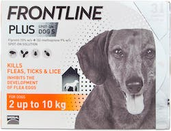 Frontline Plus Spot-on Dog Small 3 Pipettes