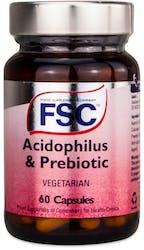 FSC Acidophilus Fos Vegetarian 60 Capsules