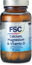 FSC Calcium 250mg Magnesium & D 60 Tablets
