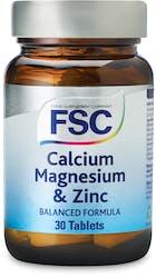 FSC Calcium, Magnesium & Zinc 30 Tablets