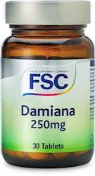 FSC Damiana 250mg 30 Tablets