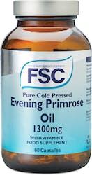 FSC Evening Primrose Oil 1300 mg 60 Capsules