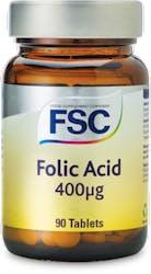 FSC Folic Acid 400mcg 90 Tablets
