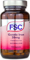 FSC Gentle Iron 20mg 120 Capsules