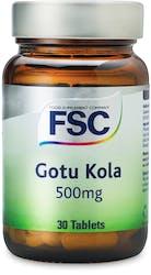 FSC Gotu Kola 500mg 30 Capsules