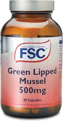FSC Green Lipped Mussel 500mg 90 Capsules