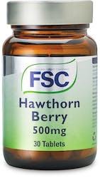 FSC Hawthorn 500mg 30 Tablets