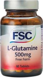 FSC L-Glutamine 500mg 60 Tablets