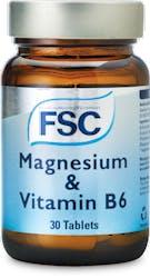 FSC Magnesium & Vitamin B6 30 Tablets