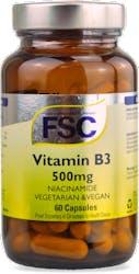 FSC Niacinamide Vitamin B3 60 Capsules