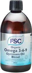 FSC Organic Omega 369 Optimum Oil 500ml