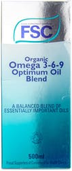 FSC Organic Omega 369 Optimum Oil 500ml